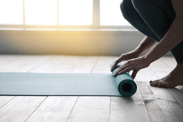 Self-rolling Smart Yoga Mat