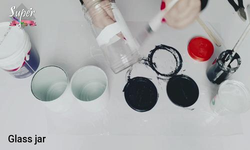 إعادة تدوير لمعلبات صفيح و برطمنات الزجاجيه و  الأدوات المستخدمة بالتفصيل و الشرح خطوات بالصور 