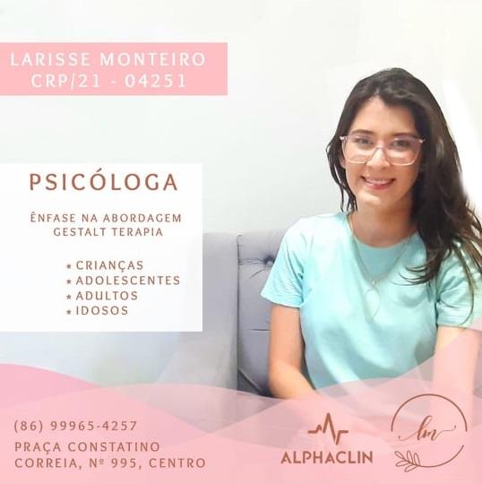 PSICÓLOGA LARISSE MONTEIRO