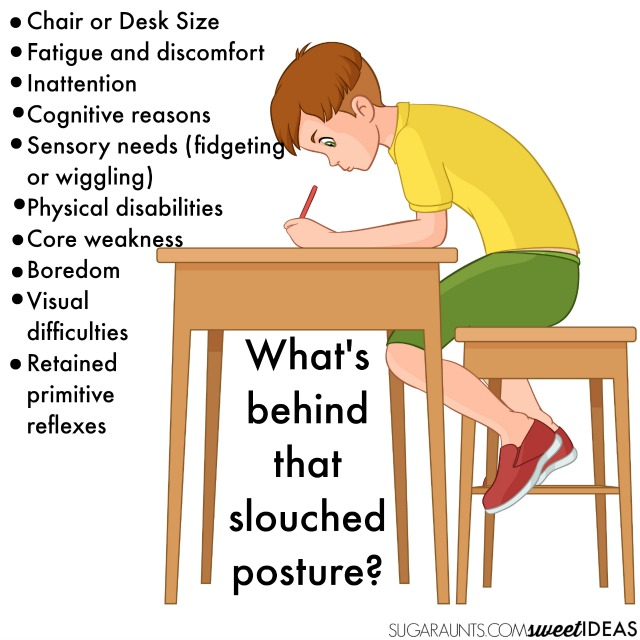 posture chair sitting kids sofa chairs during handwriting let s sit the write way slouched while writing and tips to help students improve