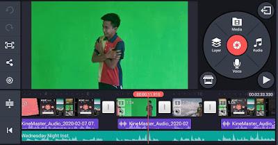 4 Langkah Mudah Green Screen Guna Kinemaster