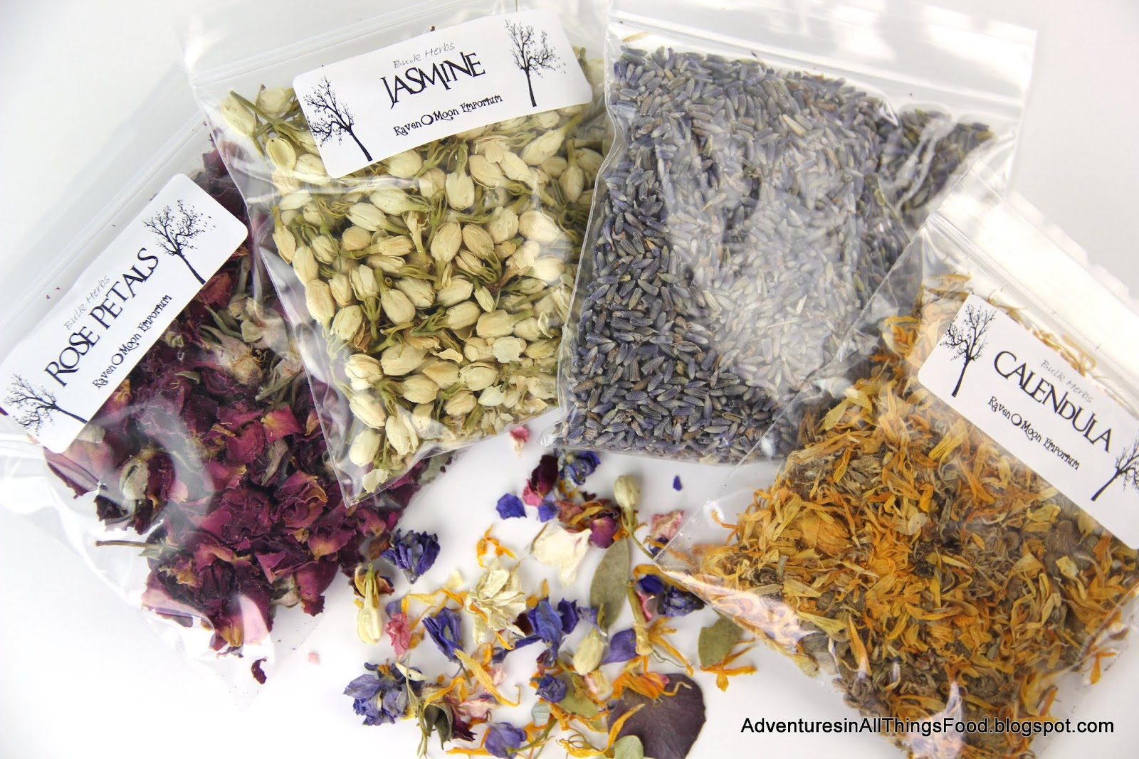Adventures In All Things Food Resin Bracelets With Dried Flowers