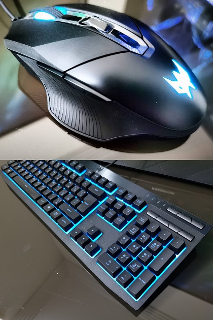 Acer Predator Orion 5000 Gaming Mouse and Keyboard
