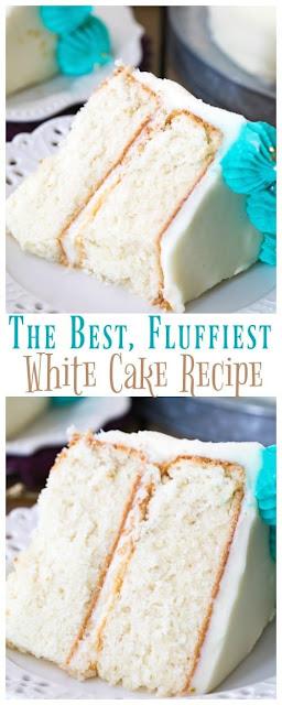 The Best White Cake Recipe