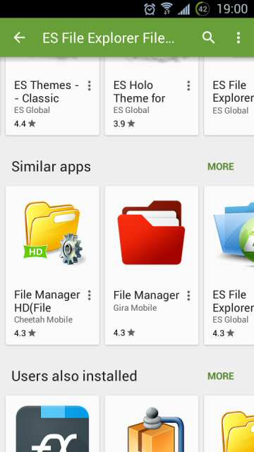 ES FILE EXPLORER ALTERNATIVE XDA - android underground