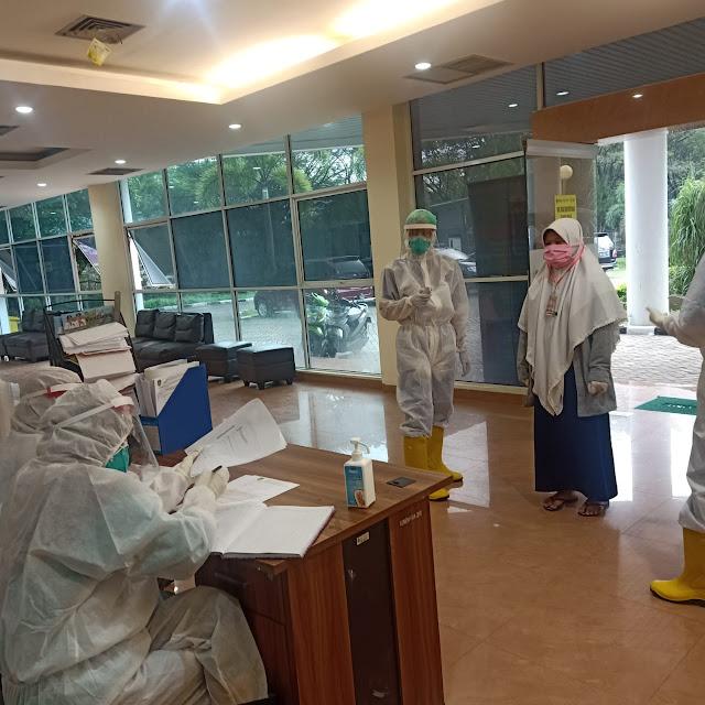 Jangan Takut, Limbah Medis ODP Center Dimusnahkan Dengan Cara Khusus