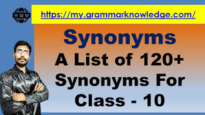 A List of 120+ Synonyms For  Class - 10