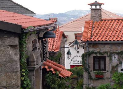 ruela na aldeia histórica de Belmonte