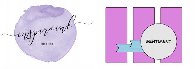 InspireINK April Blog Hop - Card Sketch