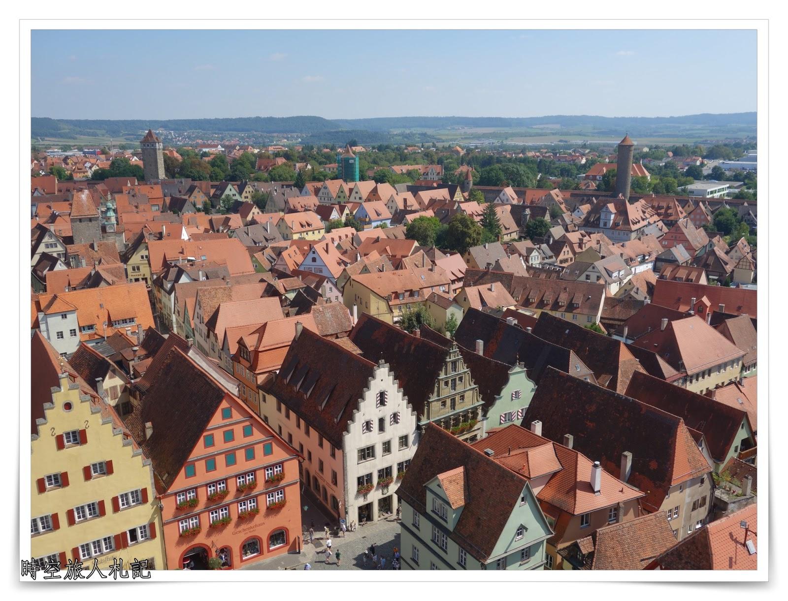 羅騰堡 Rothenburg ob der Tauber : 被凍齡的中世紀德國古城