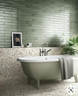 Motif Keramik Kamar Mandi Terbaru yang Sedang Trend