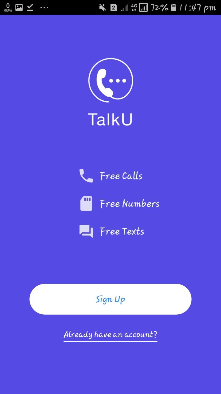 বিদেশি নাম্বার দিয়ে  কথা বলুন আনলিমিটে। । How to open Talku account.