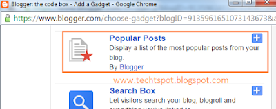 Add Popular Posts Widget In Blogger With Thumbnails 2