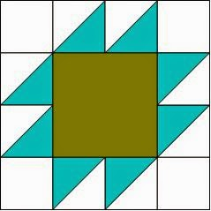 quilt pattern of the month block