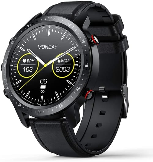 SANAG Full Touch Screen Waterproof Smart Watch