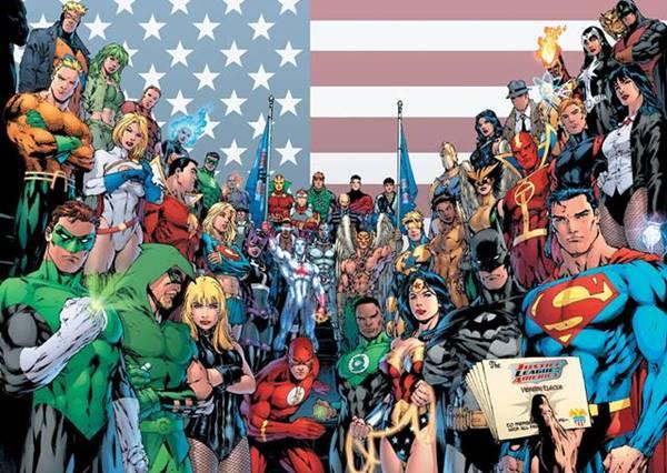 Los cómics de DC Comics