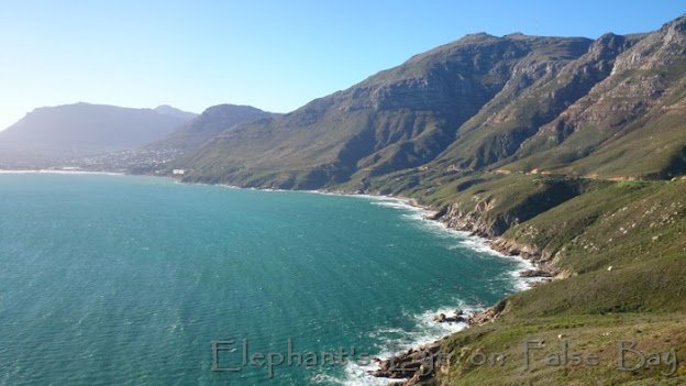 Long swell rolling in to Hout Bay