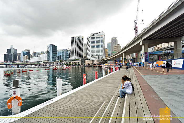 DIY Walking Tour Sydney Darling Harbour