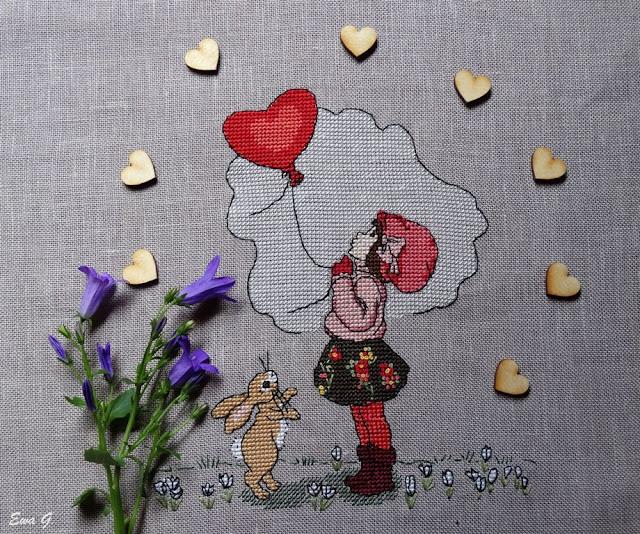 """Belle&Boo """"A little love in the air"""" - testowanie wzoru"""