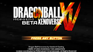 DRAGON BALL Z TENKAICHI TAG TEAM XENOVERSE 2 PPSSPP ISO DBZ TTT