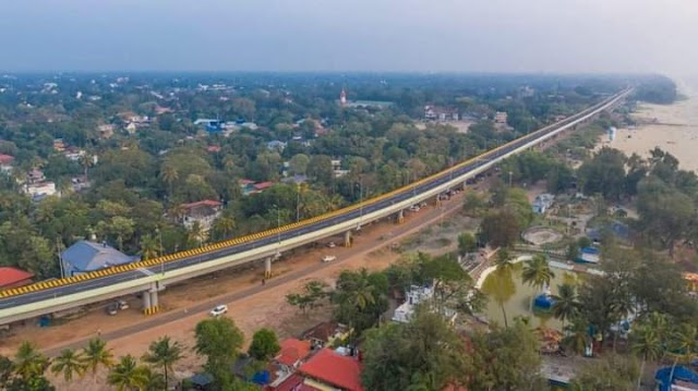 Kerala's first beachside elevated highway; Alappuzha Bypass Inauguration, half a century of waiting ends