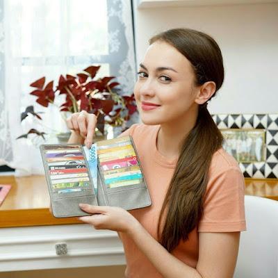 Rianti JH Carla Card Wallet Grey