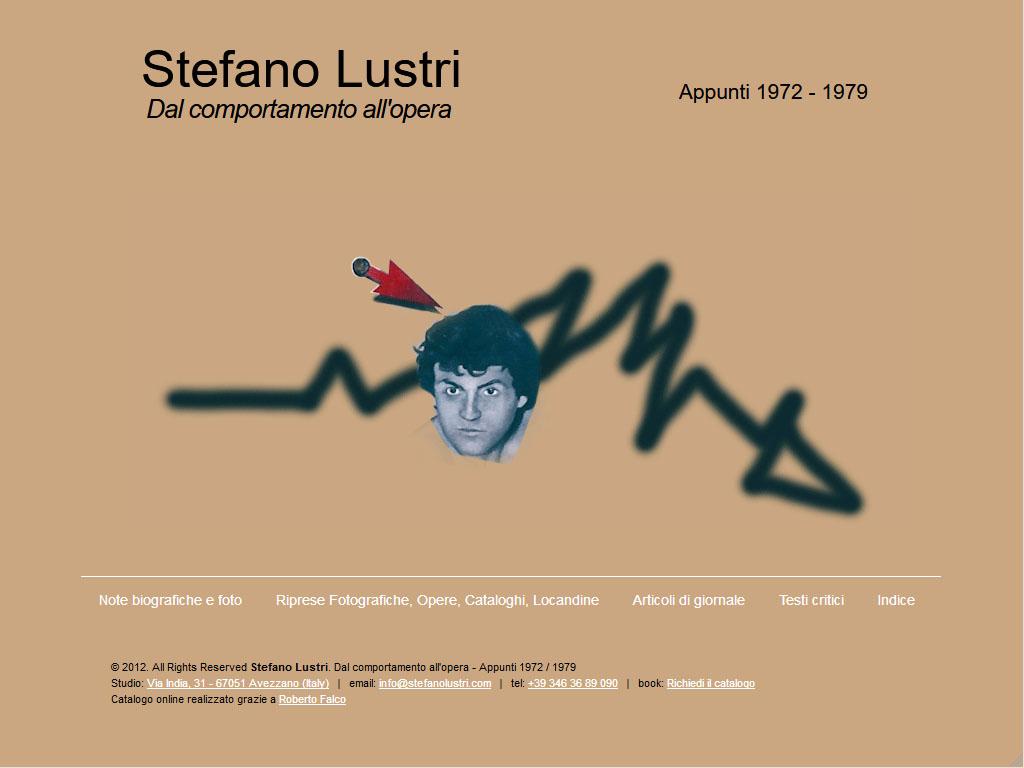 Stefano Lustri - Artista