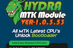 Hydra Tool MTK Module v1.0.3.53 All MTK Latest CPU's Unlock Bootloader