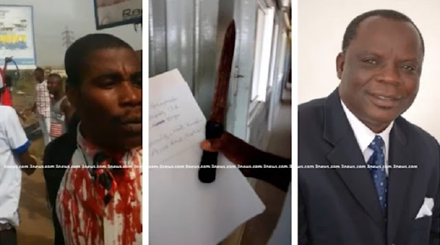 Assemblies of God Church Head Pastor stabbed to death at Tema, Community 4, Ghana [Videos]