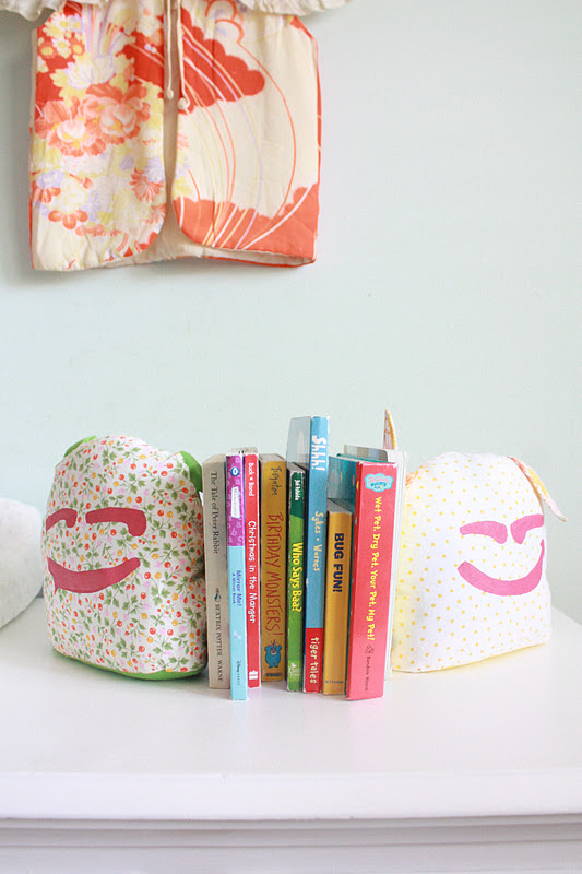 Girl In The Gray House Little Monster Book Ends