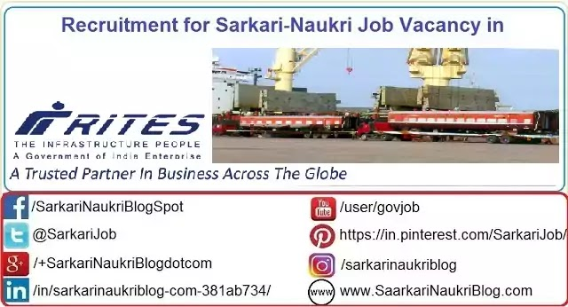 Job Recruitment Rites Limited