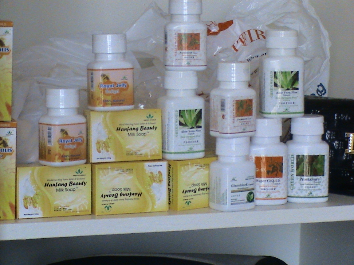Green World Hanfang Herbal Cosmetics For Your Skin Care