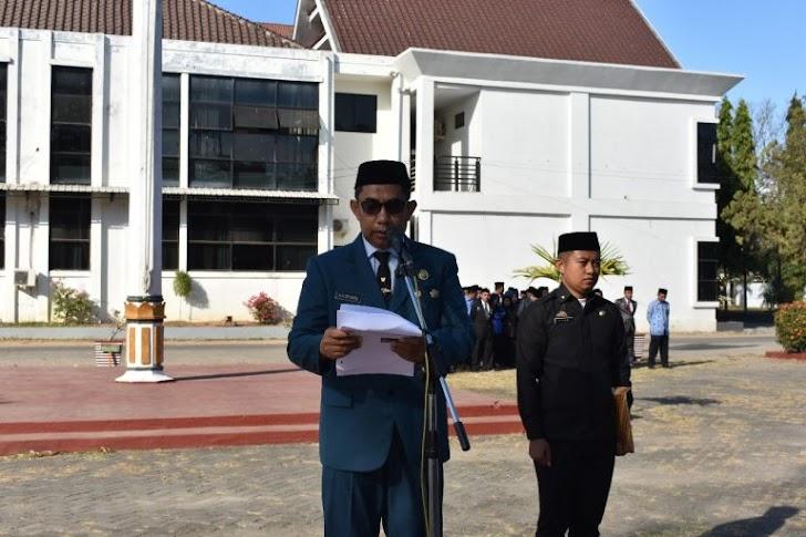 Wabup Takalar, Pimpin Upacara Peringatan HUT RI Ke 74 Tahun 2019