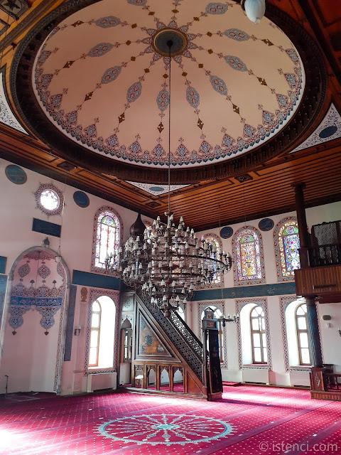 İzmit Fevziye Camii içi