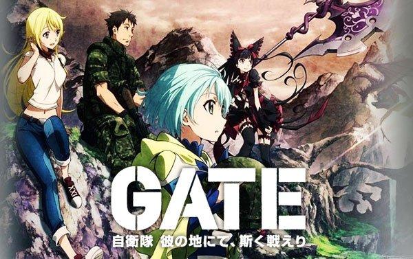 Download Gate S1: Jieitai Kanochi nite, Kaku Tatakaeri Subtitle Indonesia [Batch]