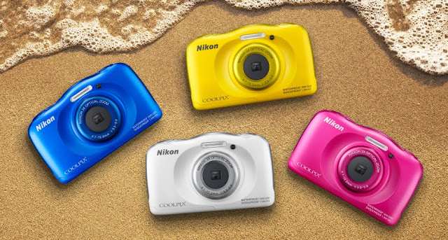 Nikon Coolpix S33 appareil photo waterproof