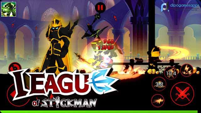 Download League of Stickman: Warriors MOD APK Terbaru
