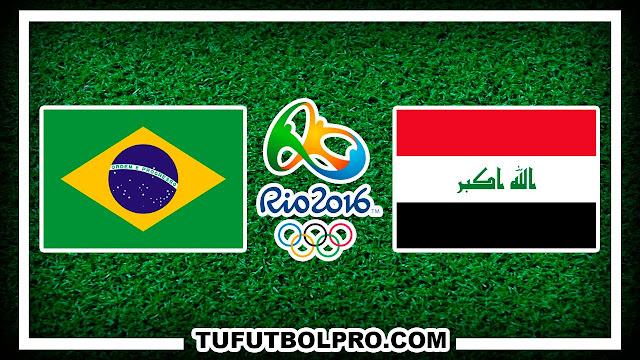 Ver Brasil vs Irak EN VIVO Por Internet