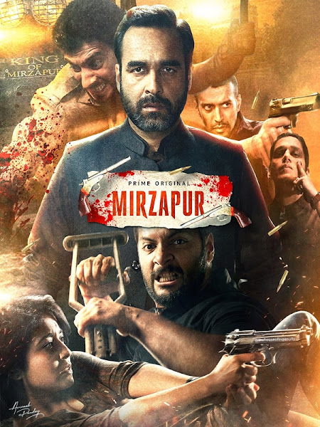Mirzapur S02 (2020) (Ep01-10) Hindi Complete AMZN Web Series 720p HEVC HDRip x265 1.4GB ESubs