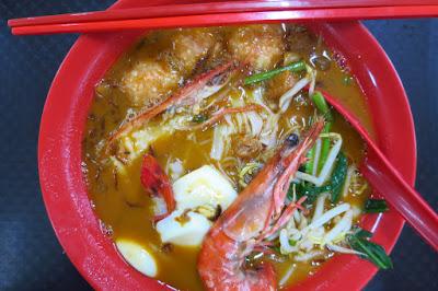 One Prawn Noodle - prawn noodle soup