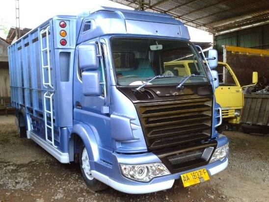 modifikasi truk canter ala scania oleh ragasa