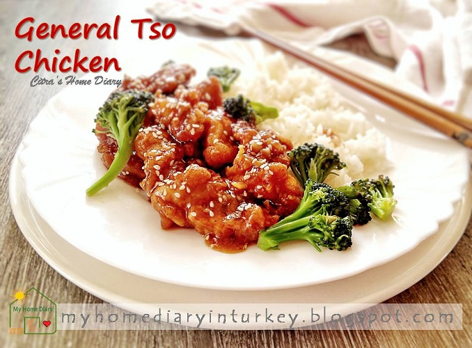 Easy General Tso's Chicken Recipe| Çitra's Home Diary