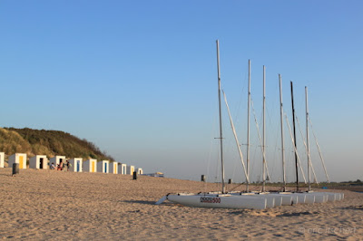 Cadzand, voilier, plage, ombre, Zwin