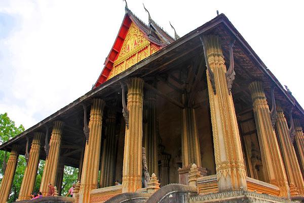 Haw Phra Kaew Temple - Vientiane (Laos)