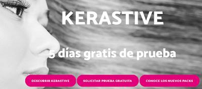 Muestras gratis Kerastive para cabello, uñas o piel