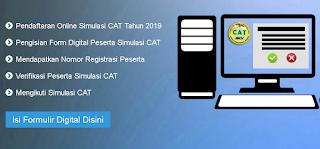 jadwal pendaftaran simulasi cat upt kanreg BKN