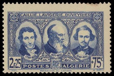 Algeria Pioneers of the Sahara Issue