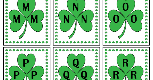 St. Patrick's Day Alphabet Hunt