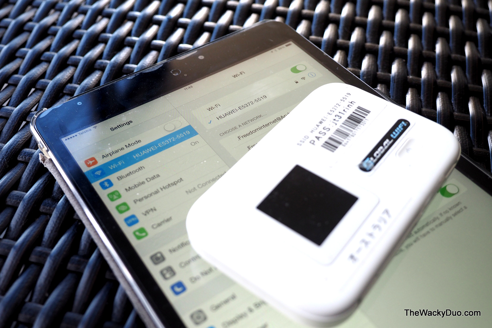 Changi Recommends Oveseas Travel Wifi Router Review | The