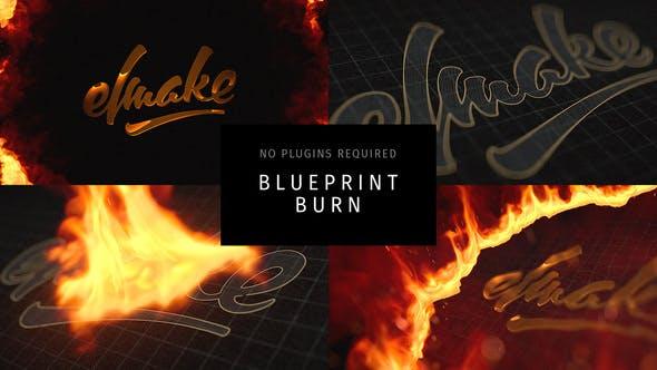 Download Blueprint Burn Free VideoHive - Okay Bhargav